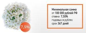 весенний процент банк союз